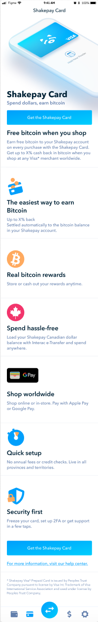 buy bitcoin, buy ethereum, sell bitcoin, sell ethereum, Shakepay, buy crypto, Canada, cryptocurrency, Shakepay Card